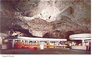 Carlsbad Caverns, NM Lunch Room Postcard (Image1)