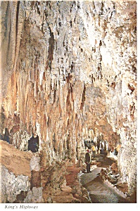 Carlsbad Caverns, NM King's Highway Postcard (Image1)