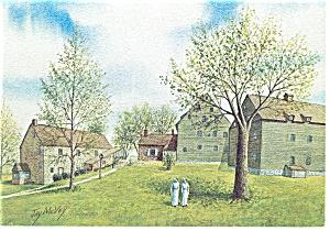 Evening at the Saron, Jay McVey Postcard cs0521 (Image1)