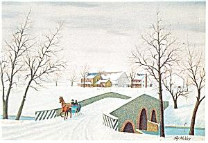 Green Dragon Bridge Jay McVey Postcard cs0523 (Image1)