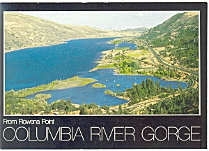 Rowena Point, Oregon, Columbia River Gorge Postcard (Image1)