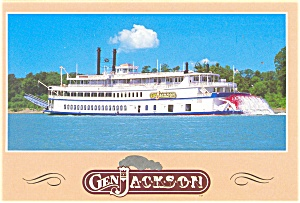 General Jackson Steam Boat Postcard cs0547 (Image1)