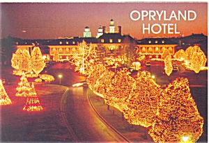 Opryland Hotel at Christmas,Nashville, TN Postcard (Image1)