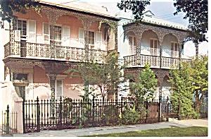 New Orleans,LA, Antebellum Home Postcard (Image1)