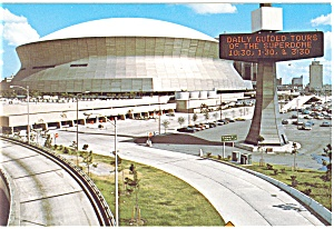 New Orleans LA The Superdome Postcard cs0558 (Image1)