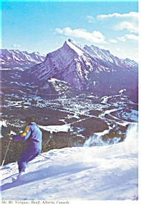 Mt Norquay, Banff, Alberta, Canada Postcard (Image1)