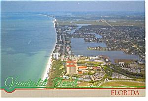 Vanderbilt Beach FL Ritz Carleton Postcard cs0584 (Image1)