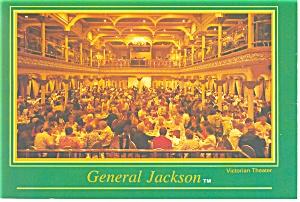 Victorian Theatre General Jackson Steam Boat Postcard cs0592 (Image1)
