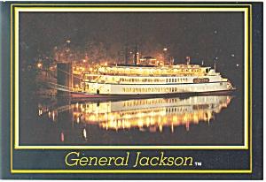General Jackson Steam Boat Postcard cs0593 (Image1)