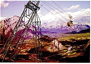 Sulpher Mountain, Banff Alberta, Canada Postcard (Image1)