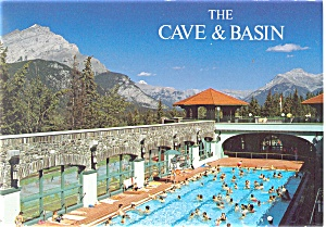 Cave and Basin, Banff Alberta, Canada Postcard (Image1)