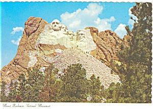 Mt Rushmore National Museum, SD Postcard (Image1)
