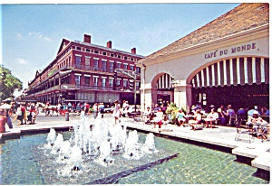 New Orleans,la, Cafe Du Monde Postcard 1989