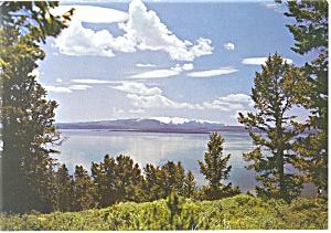 Yellowstone LakeYellowstone National Park WY Postcard cs0654 (Image1)