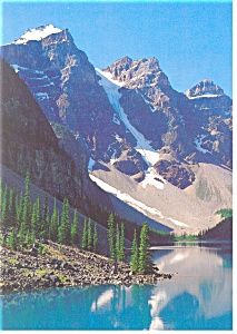 Banff National Park Moraine Lake Postcard (Image1)