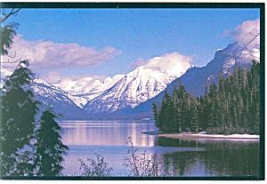 Lake McDonald Glacier National Park MT Postcard cs0683 (Image1)