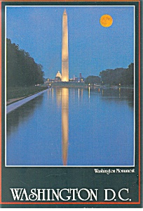 Washington Monument,Washington DC Postcard 198 (Image1)