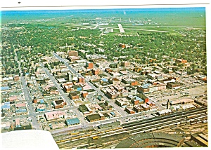 Aerial View of Cheyenne, Wyoming Postcard (Image1)