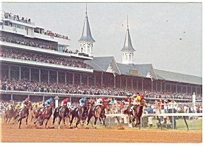 Churchill Downs, Kentucky  Postcard (Image1)