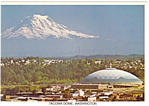 Tacoma Dome Tacoma Washington Postcard Cs0713
