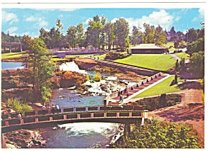 Tumwater Falls Park Washington Postcard  cs0714 (Image1)