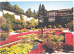 Butchart Gardens Victoria BC Canada Postcard cs0723 (Image1)