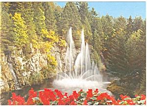 Butchart Gardens Victoria BC Canada Postcard cs0742 (Image1)