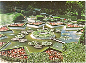 Butchart Gardens Victoria BC Canada Postcard cs0743 (Image1)