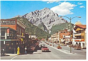 Banff Avenue,Banff National Park,Canada Postcard (Image1)