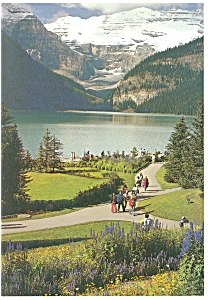 Lake Louise,Banff National Park Postcard (Image1)
