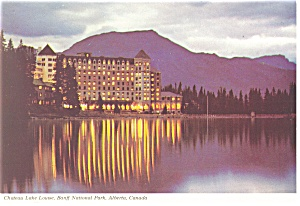 Chateau Lake Louise,Banff National Park Postcard (Image1)