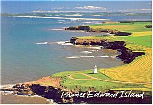 Cape Byron Cliffs,Prince Edward Island Postcard (Image1)