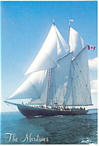 Bluenose II in The Maritimes Postcard cs0767 (Image1)