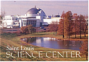 St Louis Science Center St Louis MO Postcard cs0775 (Image1)