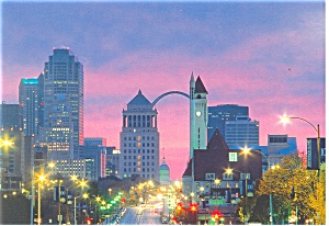 Gateway Arch, St Louis, MO Postcard (Image1)