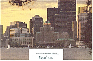 Royal York Hotel Toronto Ontario Canada Postcard Cs0784