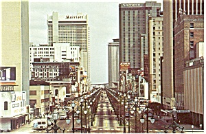 New Orleans Canal Street Postcard (Image1)