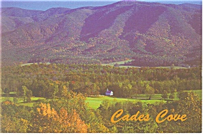 Cades Cove, Great Smoky Mts, TN Postcard (Image1)