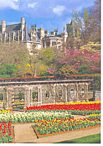 Asheville Nc Biltmore Walled Garden Postcard Cs0828