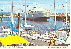 The Coho Victoria BC Canada Postcard cs0835 (Image1)
