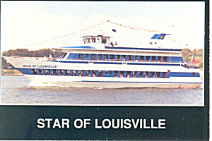 Star of Louisville Cruise Dining Postcard cs0843 (Image1)