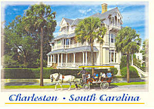 Charleston,SC, 25 East Battery Postcard (Image1)