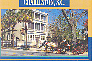 Charleston,SC, 26 Meeting Street Postcard (Image1)