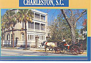 Charleston SC 26 Meeting Street Postcard cs0846 (Image1)