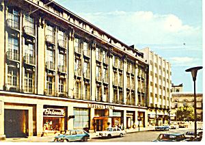 Hannover,Germany Kastens Hotel Cars 70s Postcard 1976 (Image1)