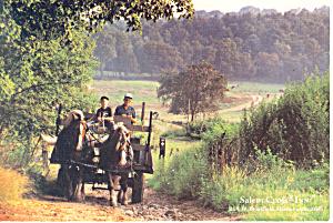 Salem Cross Inn W Brookfield MA Postcard cs0868 (Image1)