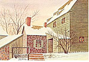 Christmas Eve James McVey Postcard cs0884 1974 (Image1)
