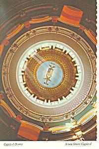 Iowa State Capitol Dome Interior Postcard (Image1)