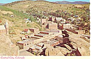 Central City Colorado Postcard cs0894 (Image1)