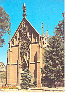 Santa Fe NM Loretto Chapel Postcard cs0903 (Image1)